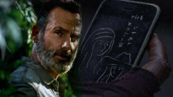 The Walking Dead Rick Grimes Michonne phone