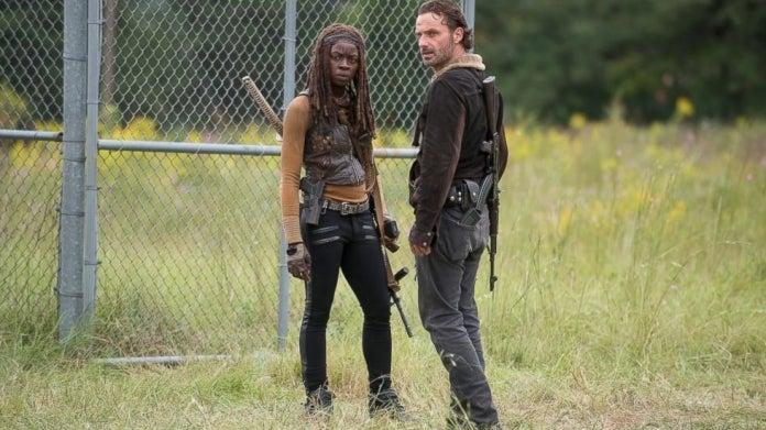 The Walking Dead Rick Michonne Not Tomorrow Yet
