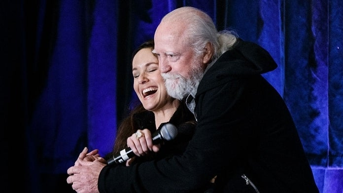 The Walking Dead Sarah Wayne Callies Scott Wilson Photo credit Andrew Chin
