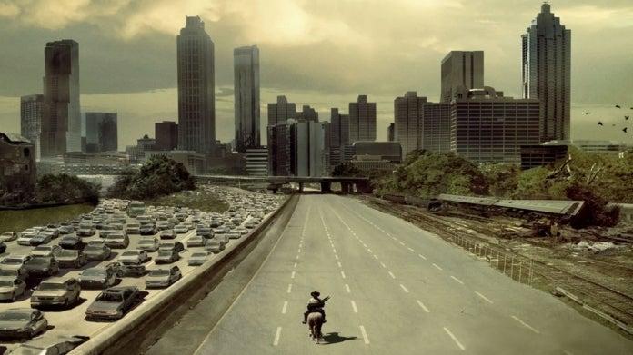 The Walking Dead Season 1 Rick Grimes Atlanta