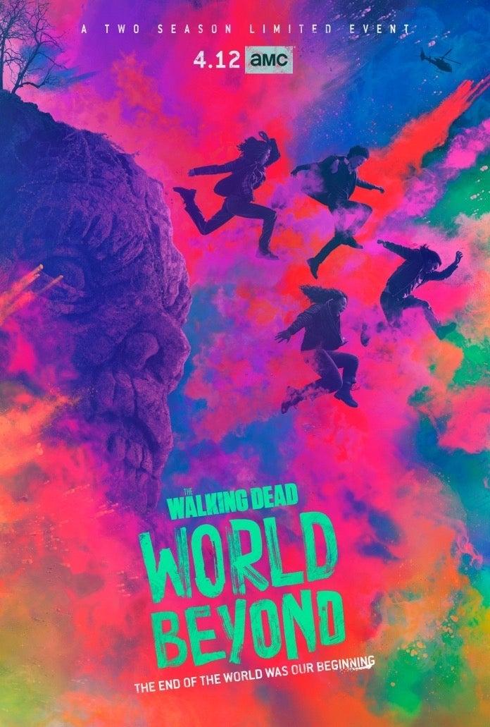 The Walking Dead World Beyond key art
