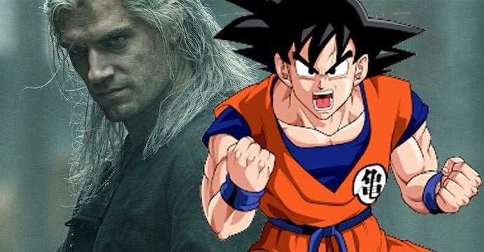 the witcher dragon ball anime