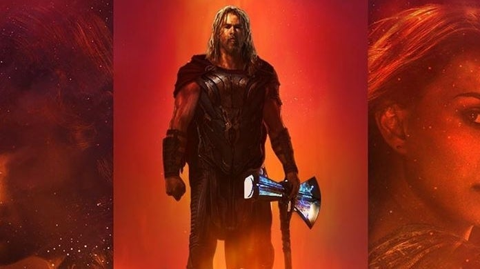 thor love and thunder fan poster spideyvegas