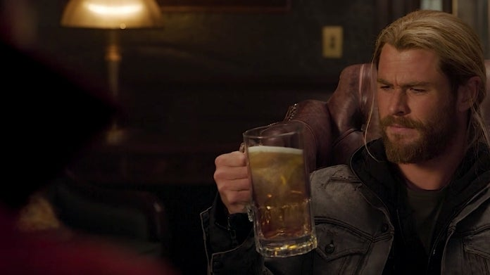 Thor Ragnarok Doctor Strange beer
