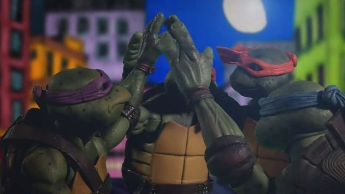 tmnt stop motion recreationg