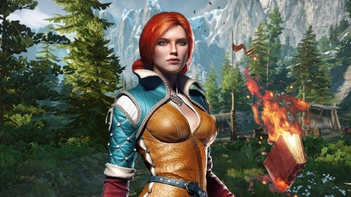 triss witcher 3 cropped hed
