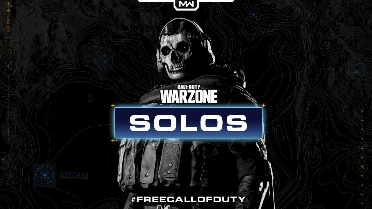 Warzone solos mode