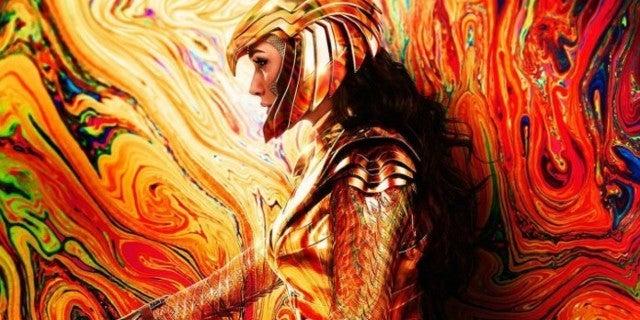 Wonder Woman 1984 Posters Golden Eagle Armor Gal Gadot