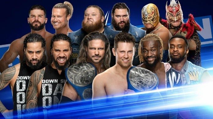 WWE-SmackDown-gauntlet-match