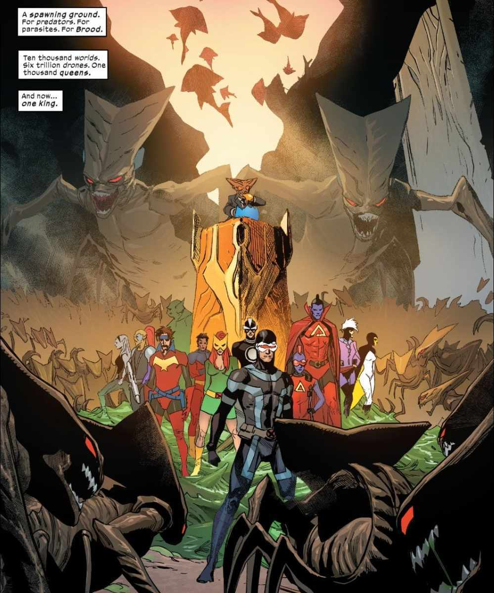 X-Men #9 Broo Brood King