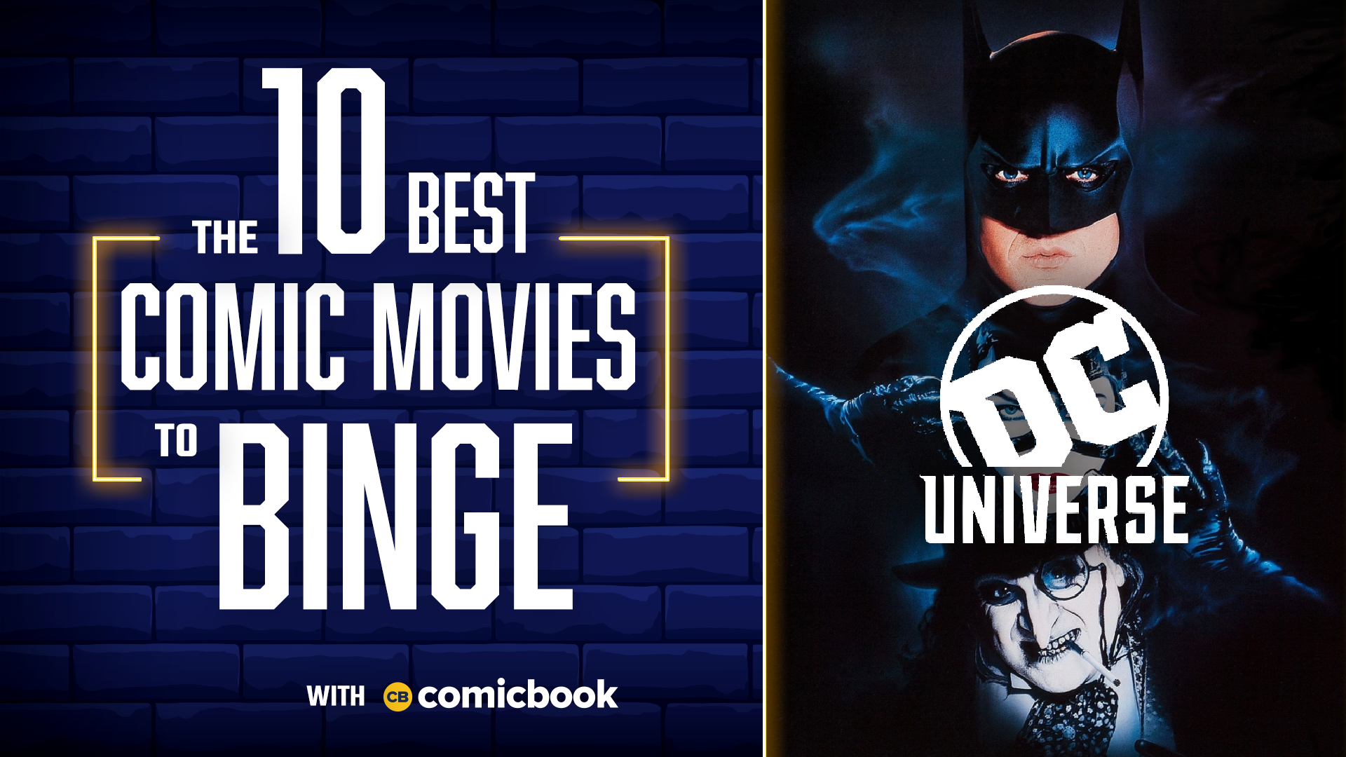 10 Best ComicBook Movies to Binge on DC Universe