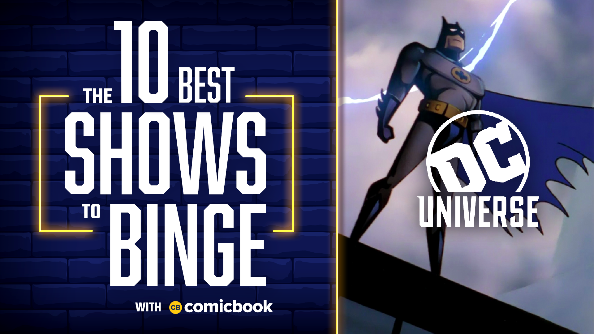 10 Best Shows to Binge on DC Universe