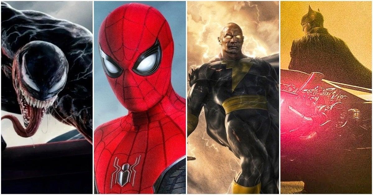 2021 Superhero Movies COMICBOOKCOM