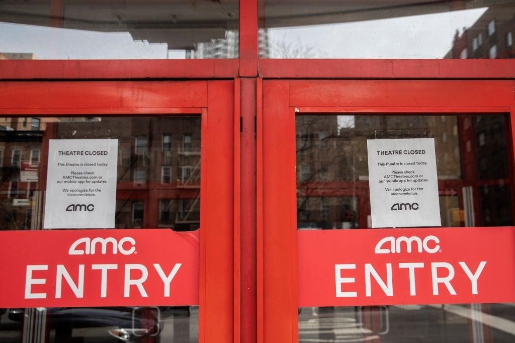 AMC Theatres closed