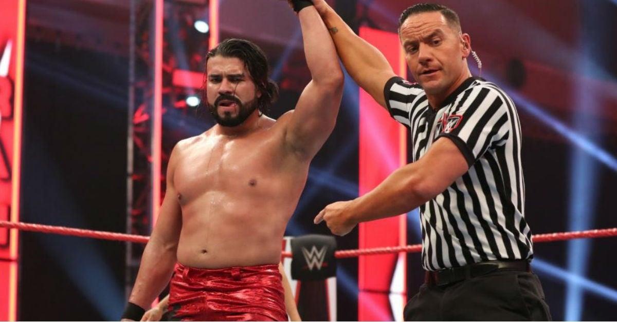 Andrade-WWE-Raw