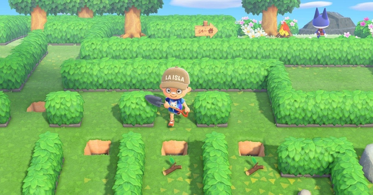 Animal Crossing New Horizons Shrub