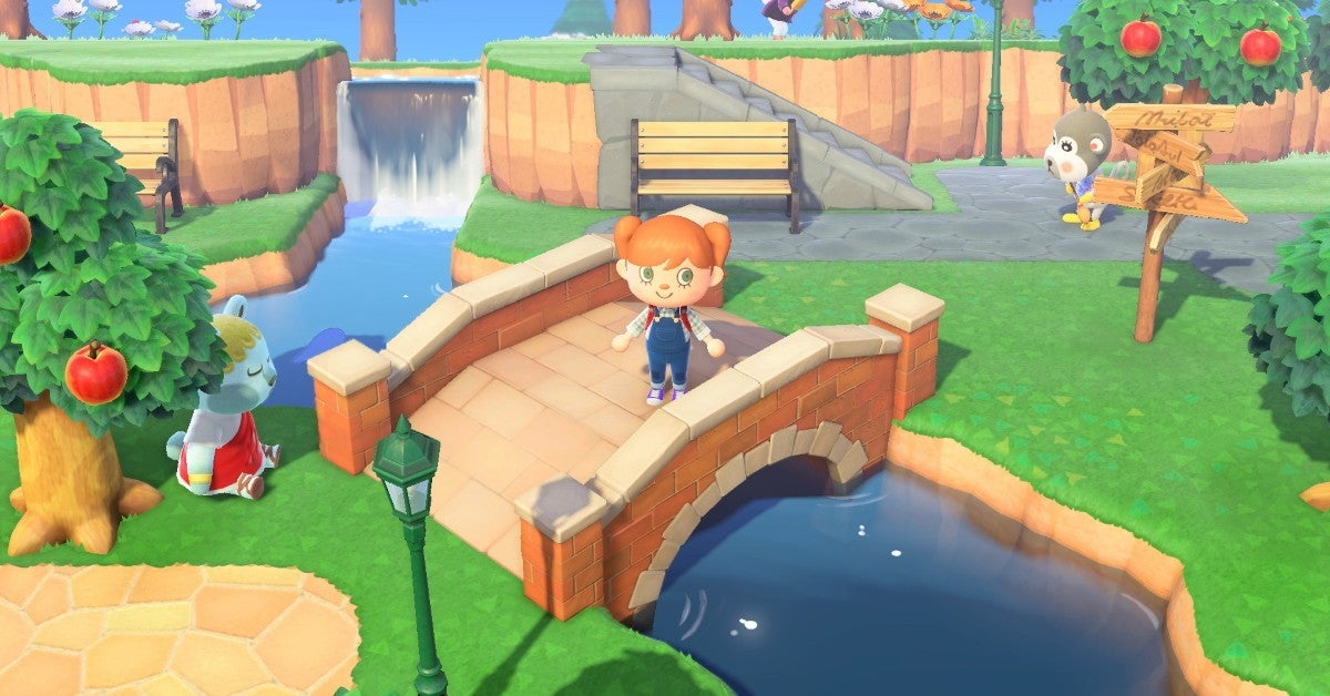 animal crossing new horizons town new cropped hed