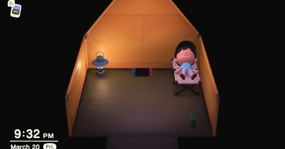 Animal Crossing Sleep