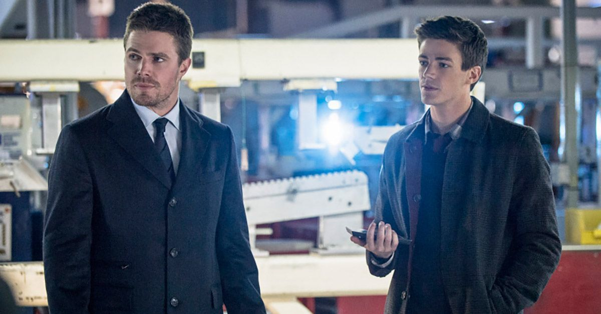 arrow oliver queen barry allen the flash