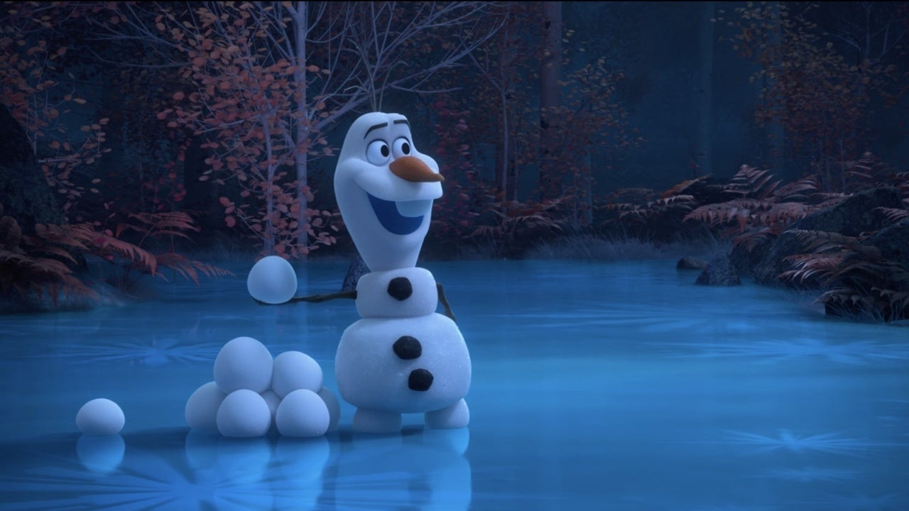 at home with olaf frozen disney
