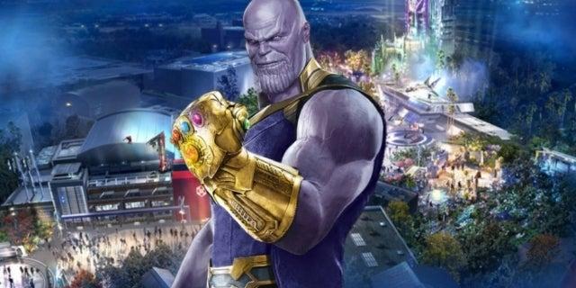 Avengers Campus Thanos snap COMICBOOKCOM