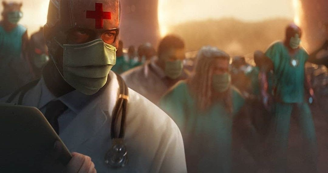 Avengers Endgame Coronavirus Pandemic Healthcare Workers Tribute by BossLogic