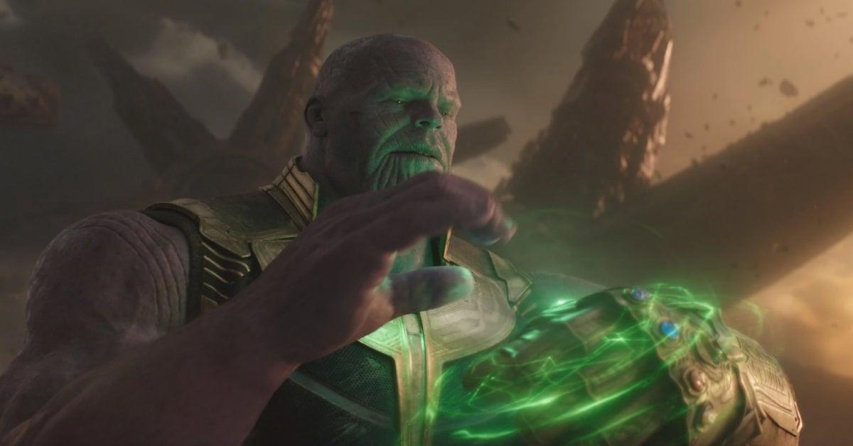 Avengers Infinity War Thanos Infinity Stones
