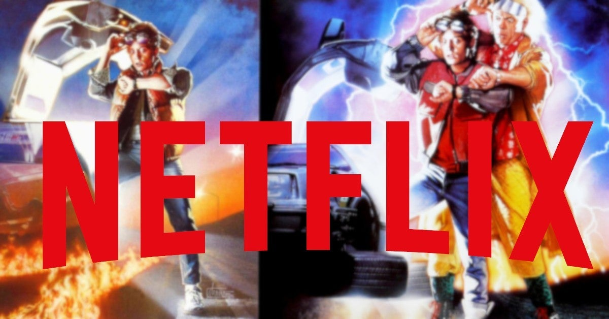 Back to the Future 1 2 on Netflix May 2020