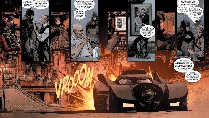 Batman Curse Cavaleiro Branco Batmobile 1989