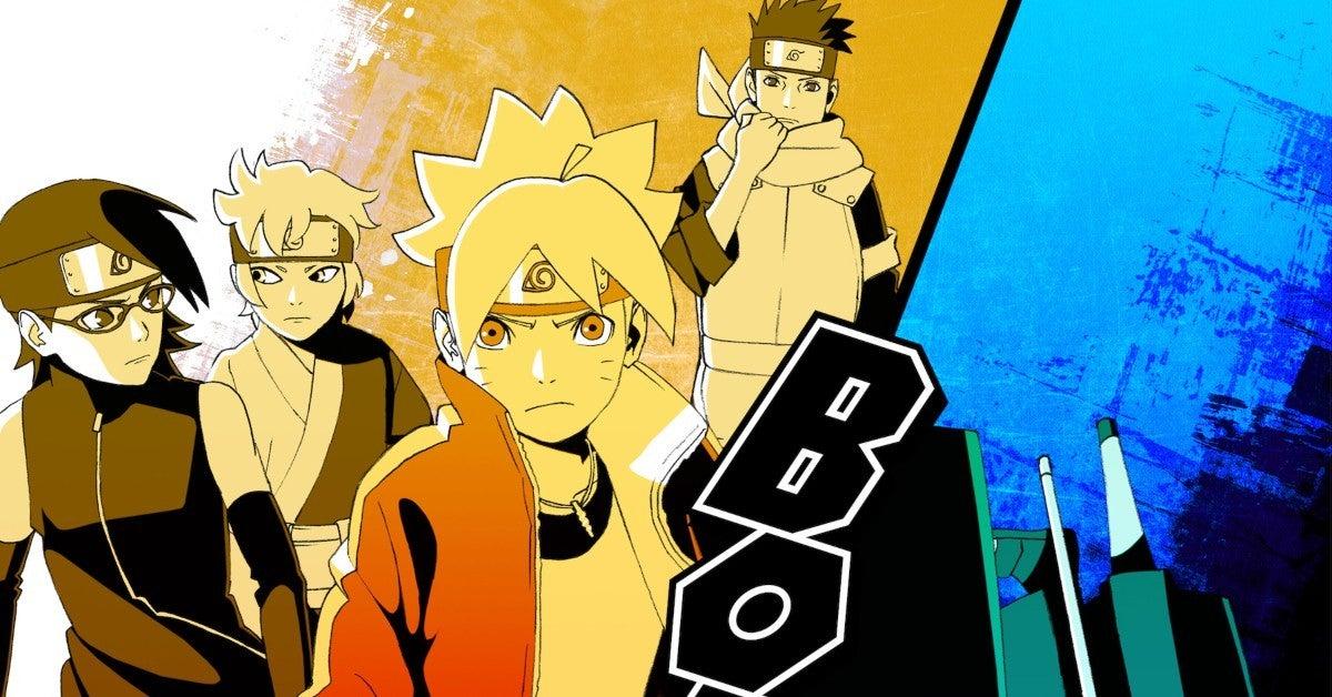 Boruto Naruto Kara Actuation Arc Poster