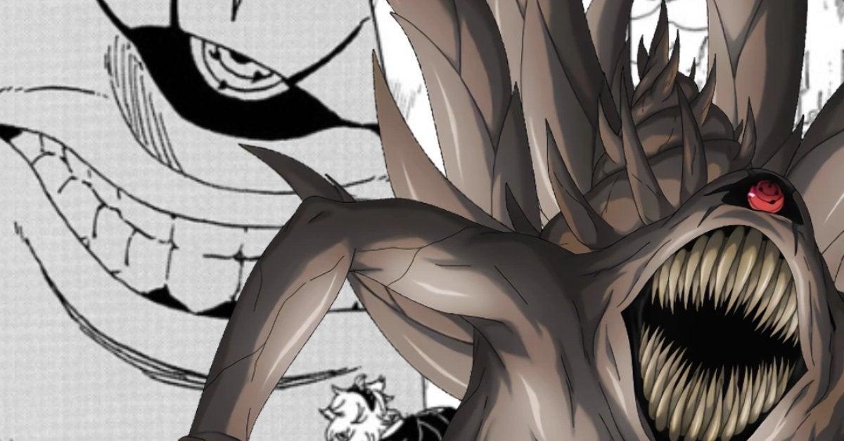 Boruto Naruto Ten Tails Manga