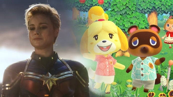 Captain-Marvel-Brie-Larson-Animal-Crossing-Junie-Thunderlight