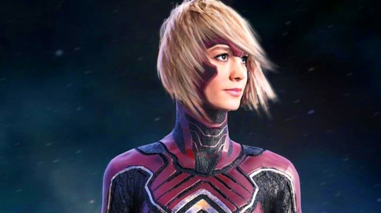 Captain Marvel Almost Had A Very Different Look For Her Marvel Studios Debut Captain marvel has had plenty of costume changes over the years. captain marvel almost had a very