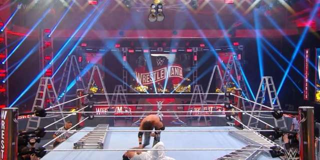 WrestleMania Viewers Are Really Concerned About The Ceiling Fan In The WWE Performance Center