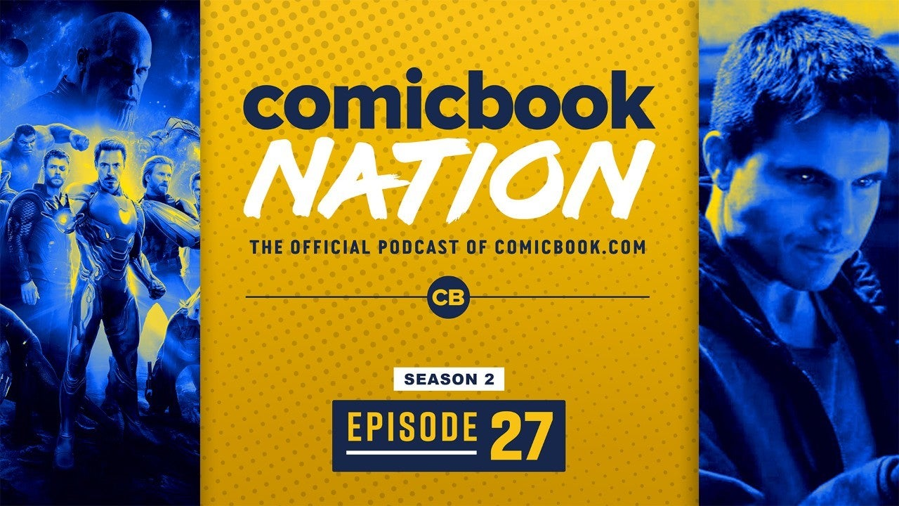 ComicBook Nation Podcast Avengers Endgame New Behind Scenes Code 8 Movie Robbie Amell Interview