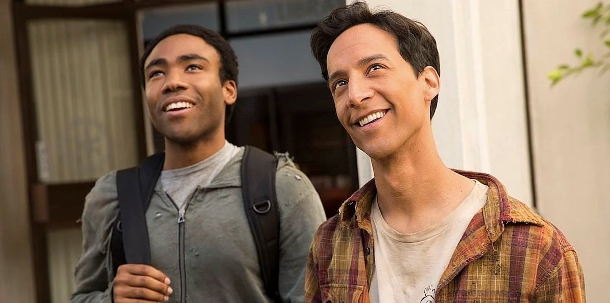 community abed troy danny pudi donald glover