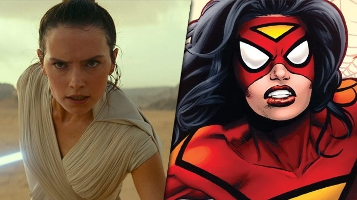 daisy ridley spider woman