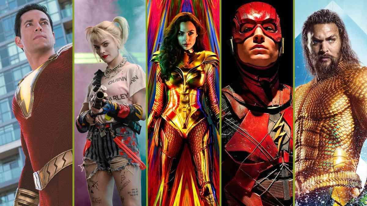 DC Comics Movies Schedule