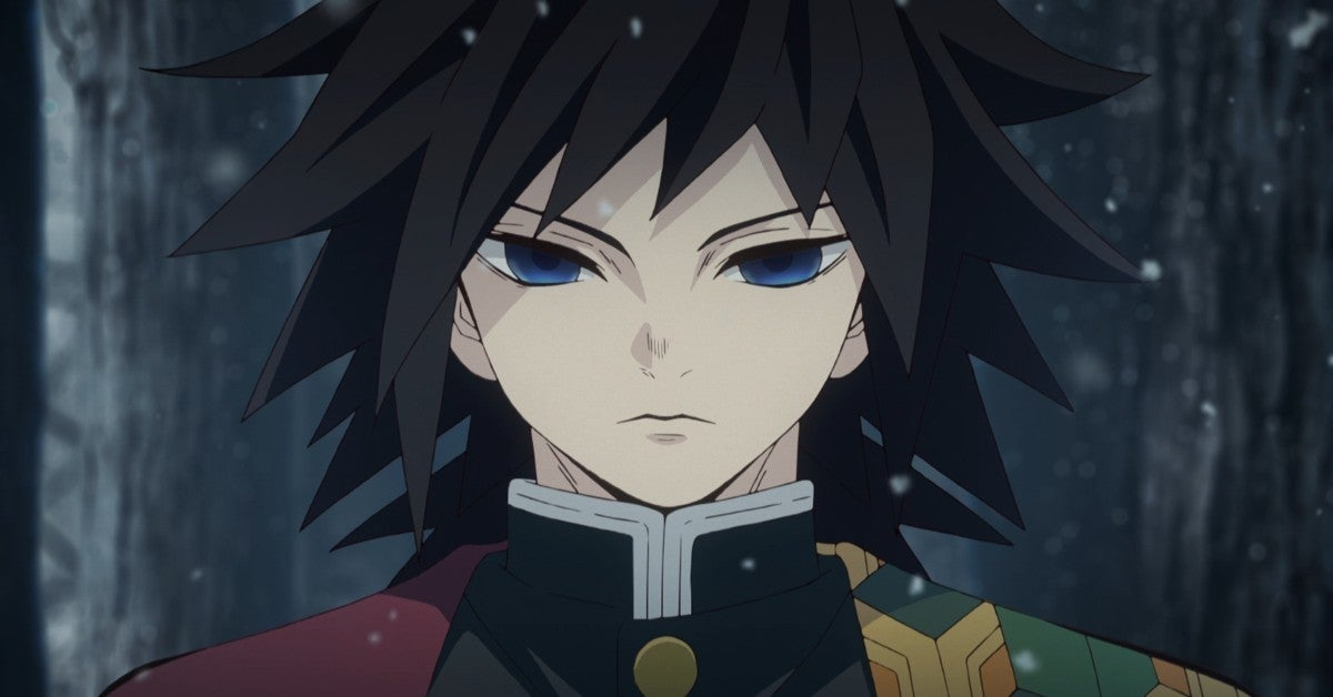 Demon Slayer Kimetsu no Yaiba Giyu Tomioka Anime
