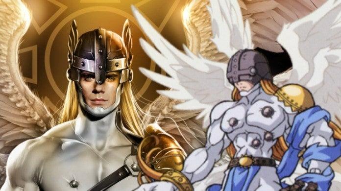 Digimon Adventure Angemon Henry Cavill Art