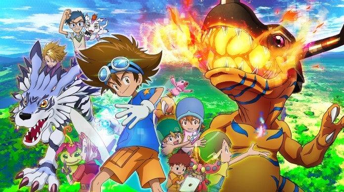Digimon Adventure Reboot Anime