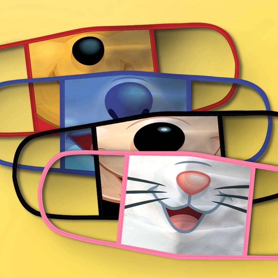 disney facemask creatures