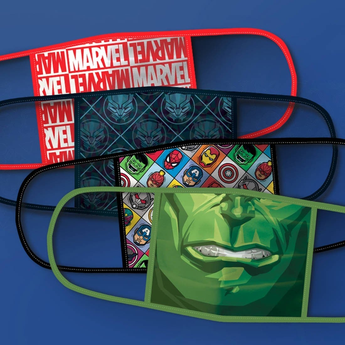 disney facemasks marvel