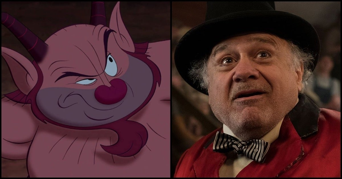 Disney Hercules Phil Danny Devito COMICBOOKCOM
