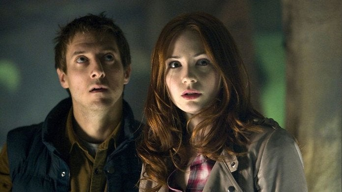 Doctor Who Amy Pond Rory Williams