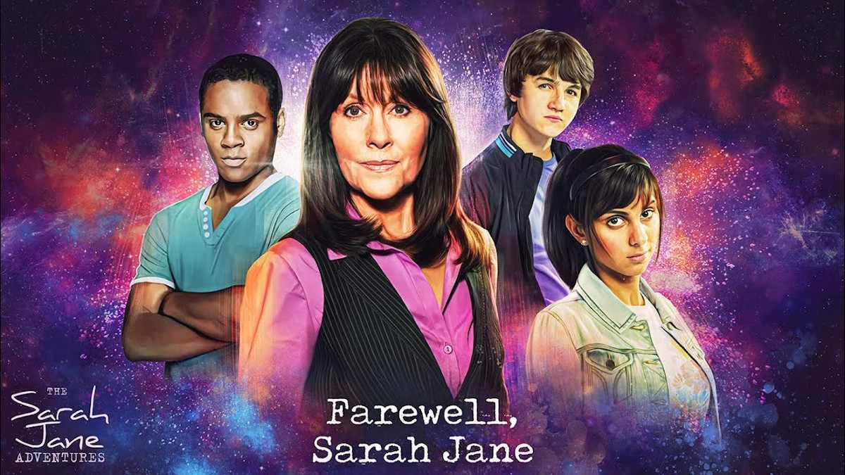 Doctor Who Sarah Jane Adventures Farewell Sarah Jane