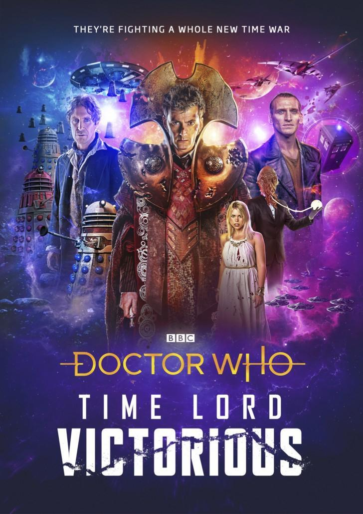 Doctor Who Time Lord Victorious Poster