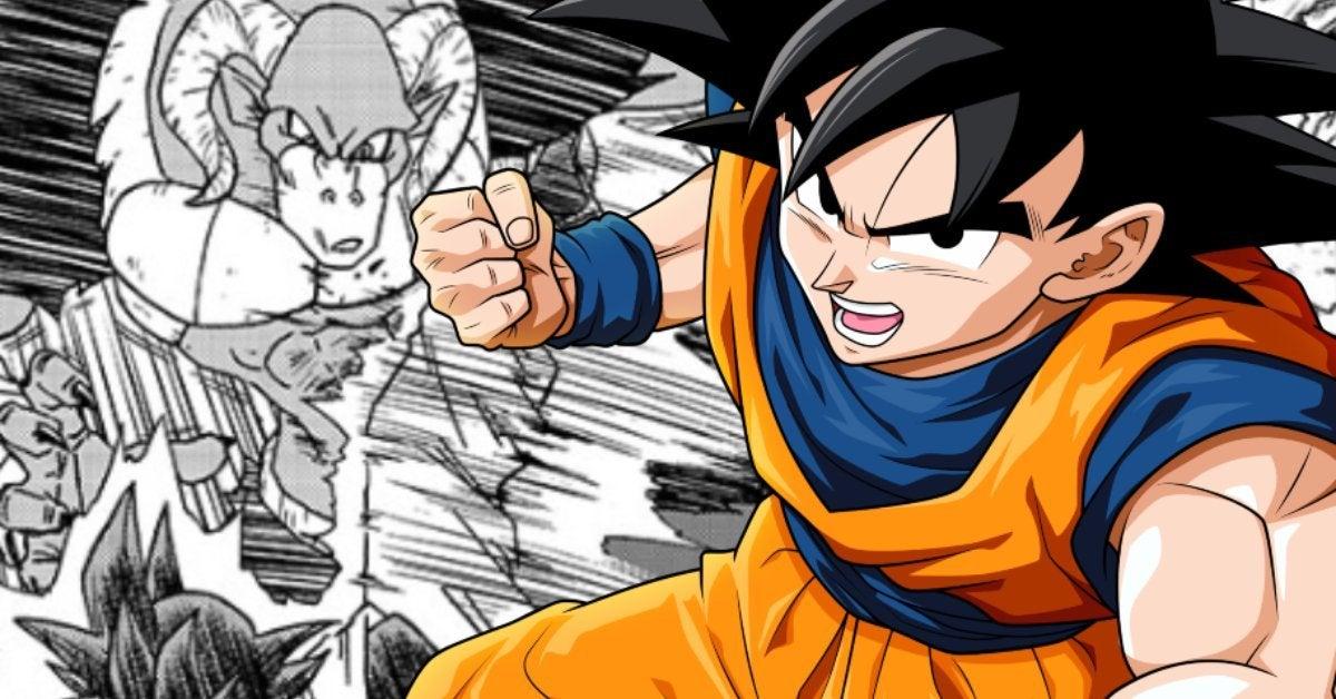 Dragon Ball Super Goku Moro Fight Manga