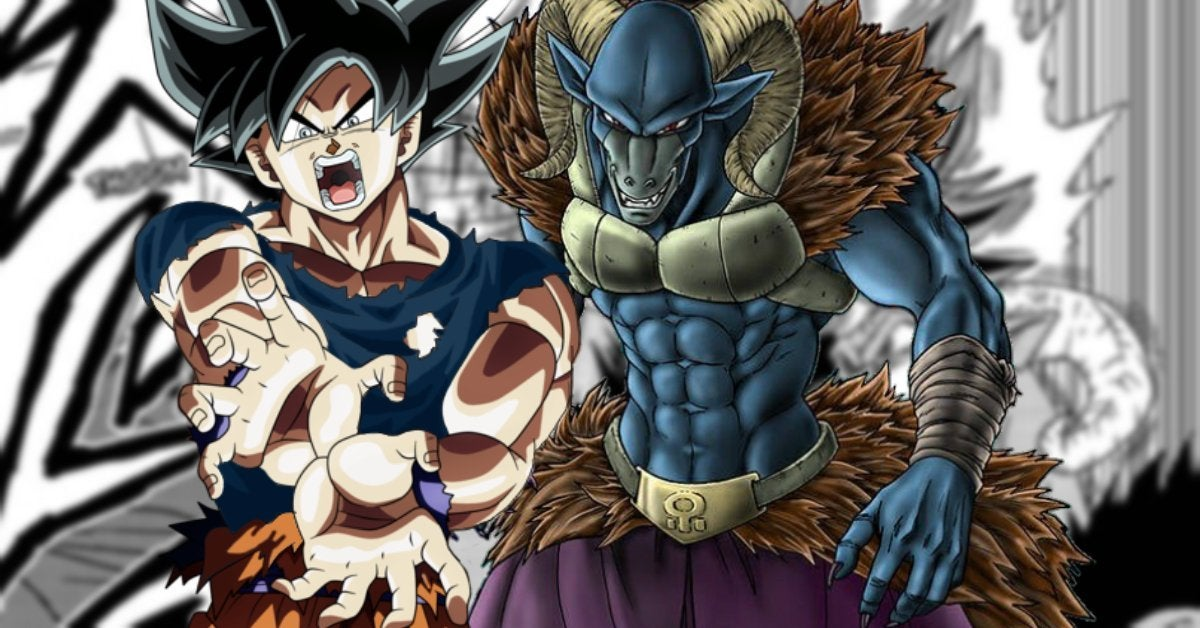 Dragon Ball Super Goku Moro Rematch Manga