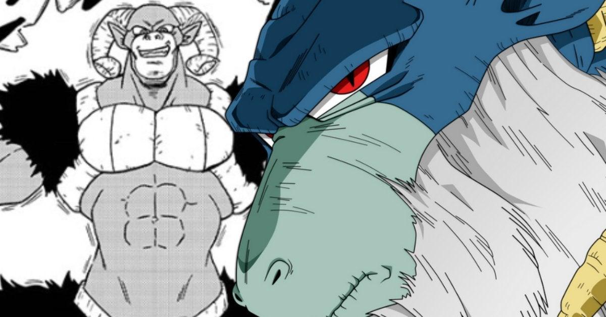 Dragon Ball Super Moro Energy Manga